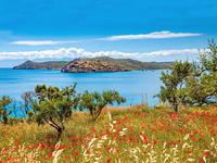 Kreta - Blick auf Festung Spinalonga