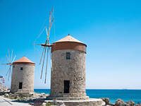 Windmühlen Rhodos